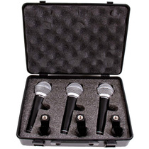 Micrófono Samson R21 Pack X 3 Unidades Dinamico Envios!
