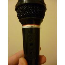 Microfono Dynamic 600 Yoga Dm-302 Con Cable Impecable!!!