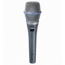 Shure Beta 87a Microfono Condenser Supercardioide D/mano P/v