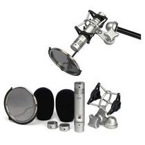 Samson Cl2 Microfono Condenser Set De 2 C/susp Parav Estuche