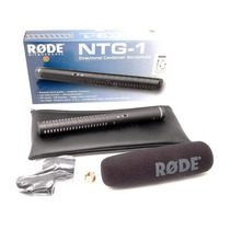 Rode Ntg-1 Microfono Boom Calidad Broadcast