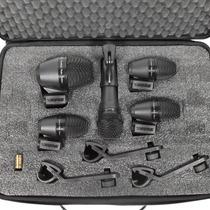 Shure Pgadrumkit5 Set De Micrófonos Batería Estuche Clamp