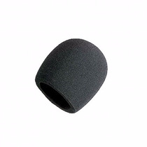 Paraviento Antipop Para Micrófono Negro Shure Código A58ws
