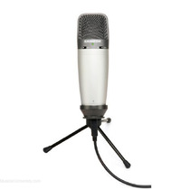 Micrófono Condenser Samson C03u Usb Profesional Estuche Pie