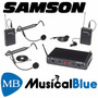Samson C288prese Concert 288 Sist Inalambric Uhf Dual Vincha