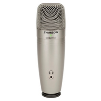 Samson C01u Pro Microfono Condenser Usb Con Salida Auricular