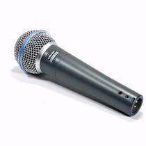 Microfono Mano Shure Beta 58a Original Dinamico Gtía Oficial