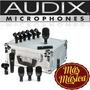 Kit Fusion Bateria 7 Microfonos - Incluye Estuche Audix Fp7