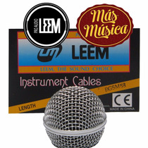Leem Sm58 Bocha P/microfono Sm-58 Reforzzada Rejilla Metalic