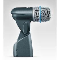 Microfono Shure Beta56 Condenser Supercard P/ Bateria