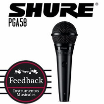 Shure Pga58 - Micrófono Cardioide Dinámico Para Voces