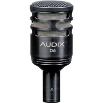 Audix D6 Microfono Dinamico Ideal Para Bombo