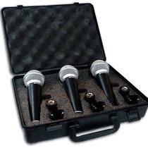 Combo Micrófonos Samson R21 X 3 + 3 Cables 6mts Xlr