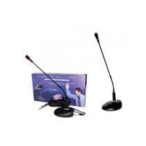 Micrófono Zebra De Mesa Cuello C/ Base Para Conferencias