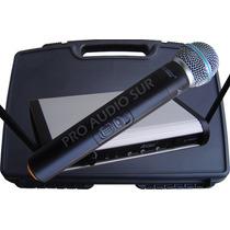 Microfono Inalambrico Apogee U1 Simple Mano Uhf Profesional