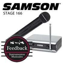 Samson Stage 166 - Sistema Micrófono Inalambrico De Mano