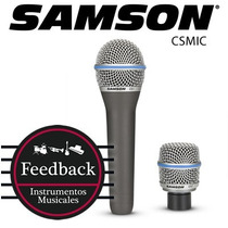 Samson Csmic - Microf Dinamico, Doble Capsula Intercambiable