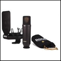 Microfono Condensador Rode Nt1kit Susp+pop Rycote-en Palermo