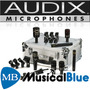 Set De Microfonos Para Bateria Audix Dp7