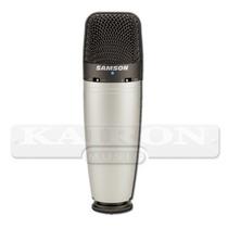 Microfono Condenser De Estudio Samson C03