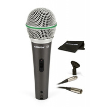 Samson Q6 Supreme Mic Dinámico Vocal E Instr +cable Y Pipeta