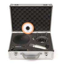 Microfono Samson Condenser C03u Pack Araña, Tripode, Cable