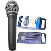 Microfono Samson Q7 Original + Estuche + Pipeta - La Roca