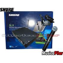 Microfono Inalambrico Shure Slx24ar/sm58 J3 Musicapilar