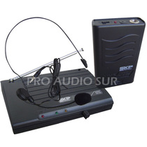 Microfono Inalambrico Skp Vhf655 Vincha Headset Wireless