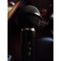 Microfono Dinamico Karaoke Profesional
