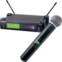 Microfono Inalambrico Shure Slx 2/4 C/beta 58a Uhf Original