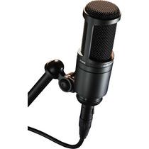 Micrófono Audio Technica At2020 , Cuotas Sin Interés!!