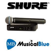 Sist Microf Inalambric Vocal C/beta58 Shure Blx24ar/b58