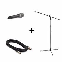 Microfono Prof Samson Q7 Estuche + Pipeta + Soporte + Cable