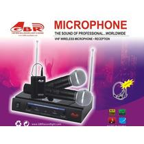 Microfono Inalambrico Doble Mano Gbr Vhf-228