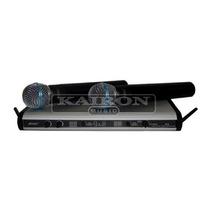 Set Microfonos Inalambricos Apogee U6 Uhf Con Estuche