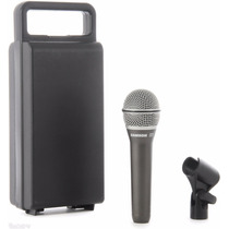 Microfono Profesional Mano Vocal Samson Q7 Estuche + Pipeta