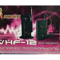 Microfono Inalambrico Solapero Instrumentos Powerfull Vhf12