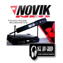 Microfono Inalambrico Novik Profesional Vnk 100