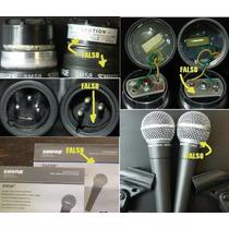 Microfono Shure Sm58 1 Año De Garantia Oficial , Mexico