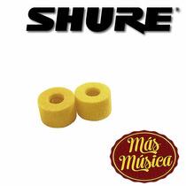 Shure Pa750 Foam Esponja, Pack X 20, Repuesto Para Auricular