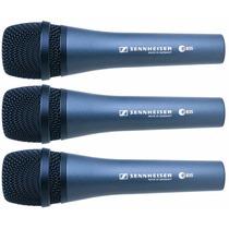 Combo 3 Microfonos Sennheiser E 835 Profesional E835 Alemán