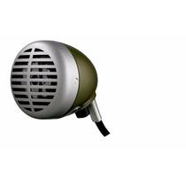Micrófono Shure 520dx Armónica Green Bullet Vintage Clásico