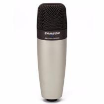 Microfono Condenser Samson C01 Estudio Con Estuche