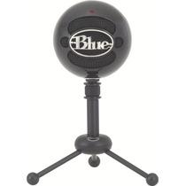 Microfono Usb Blue Snowball Gloss Black- Fact. A Y B