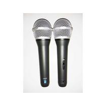 2 Microfonos Supercardioide Zkx K802