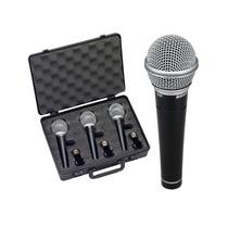 Pack De Microfonos Samson R21 Multiproposito Con Estuche