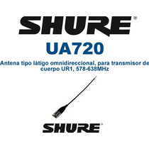 Antena Tipo Látigo Omnidireccional Suhre Ua720