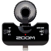 Zoom Iq5 Micrófono Stereo Profesional P/ Iphone / Ipad/ Ipod
