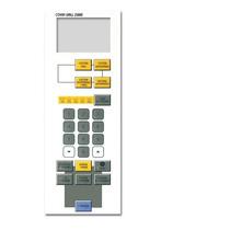 Teclado Frente Membrana Microonda Bgh P742373 - 25860-2373